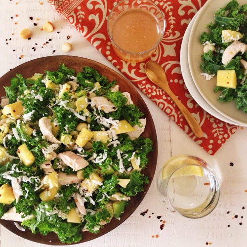 chicken-kale-and-coconut-salad