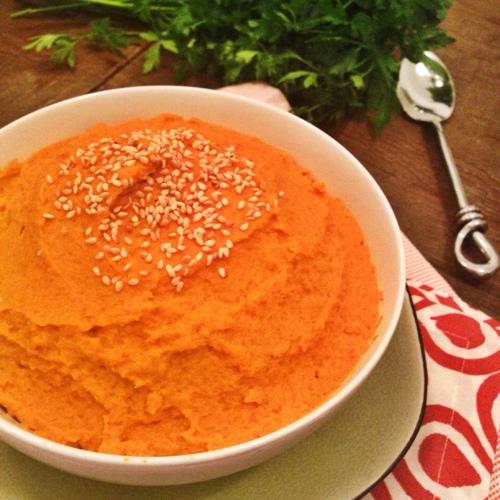 carrot-puree