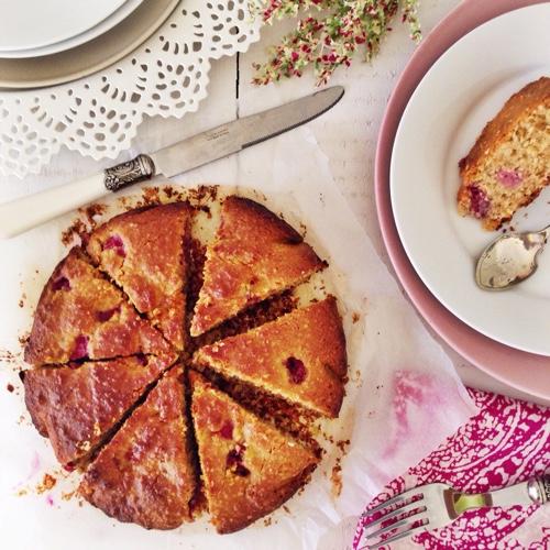 raspberry-coconut-cake